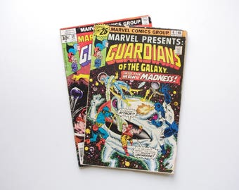 Marvel Presents Guardians of the Galaxy - Two issues #4 and #10 - Nice Condition