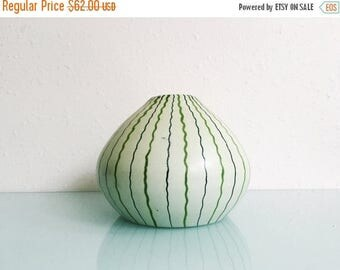 ON SALE Mid Century Bulbous Bitossi Vase