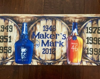 The Champions of Basketball print on Stretched Canvas; UK, wall decor art; barware; man cave; makers mark; calipari; Kentucky wildcats, host