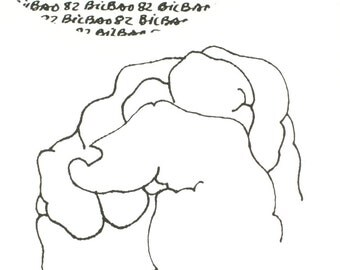 Eduardo Chillida-Mundial Spain-1982 Lithograph