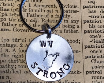 WV Strong Keychain
