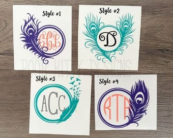 Feather Series #1 - Monogram - Personalized