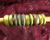 Antique Ethiopian Brass and Metal Rings