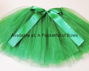 Kelly Green Tutu Skirt, Toddler Girls Green Tutu