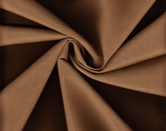 By The Yard (BTY) Majilite Upholstery Fabric NovaSuede Faux Suede Cocoa (ID1)