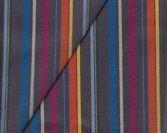 1 Yard Camira Upholstery Fabric Stripes Wool in Eton College SZV01 (MY2)