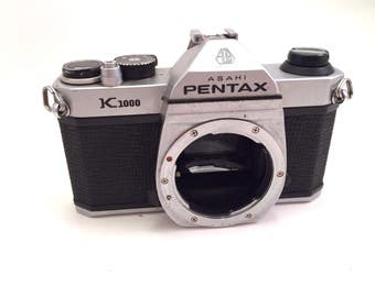Pentax K1000 Body 35mm Film Camera - With Issues