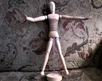 Wooden Articulated Artist's Model