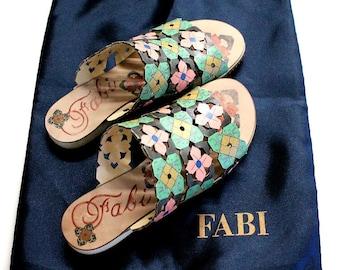 Fabi Authentic Sandals Shoes Summer Flat Size 36