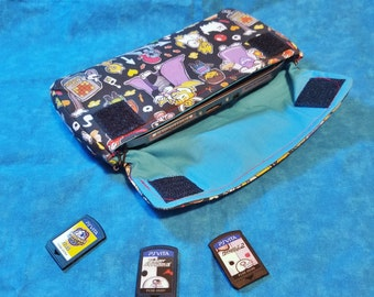 PlayStation Vita Carrying Case - CHOOSE YOUR PATTERN - Made to Order