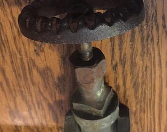 "Antique outdoor faucet 3"""