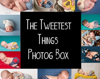 The Tweetest Things Photog Box (boys) - rompers, pants, slouch hats - 100+ for only 65 (or less)  **NO ADDITIONAL DISCOUNTS**