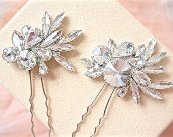 Rhinestone Hair Pins,Bridal Hair Pins,Wedding Hair Pins,Crystal Hair Pins,Bridal Hair Piece,Wedding Hair Piece,Crystal Hair Piece,Sparklys