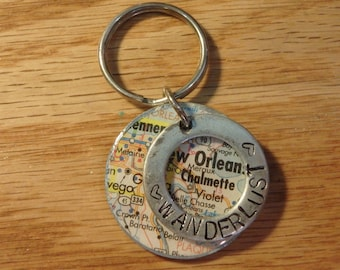 New Orleans Key Chain