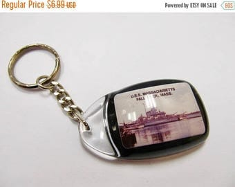 On Sale USS Massachusetts Ship Key Chain Item K # 2896