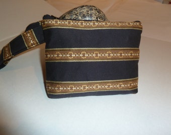 Black/Brown/Grey Neutrals Selection, Smart Phone/ i-Phone Wristlet Selection, Zippered Case