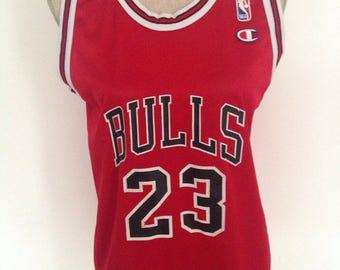 Vintage Michael Jordan Chicago Bulls Basketball Jersey