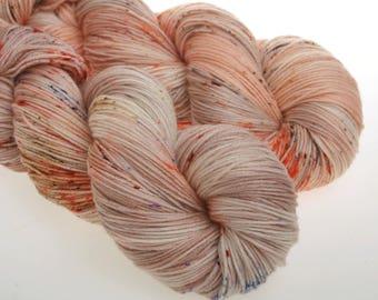 Hand Dyed Yarn 'Twins' -  Hand dyed Wool Yarn, Sock Yarn     100g