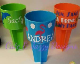 Personalized Beach Spiker Large