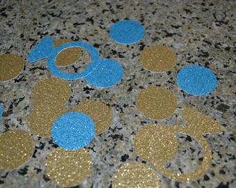 50 Glitter Rings/Rings/Ring Confetti/Confetti/Table Scatter/Bachelorette Confetti/Bachelor Confetti