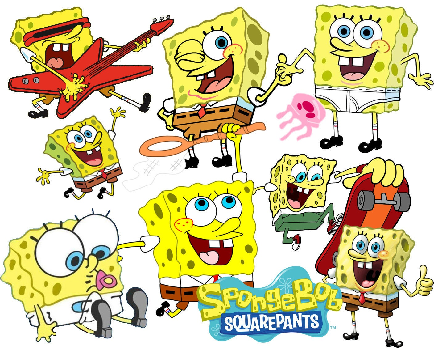 best collection of 115 sponge bob clipart 115 high quality