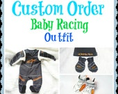 Baby Racing Outfit Like Daddy's