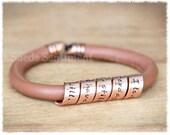 Womens Bracelet • Best Friend Gift • Anniversary Gifts • Personalized Bracelet • Copper Bracelet