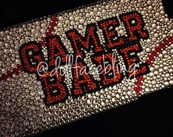 MADE TO ORDER Sf gamer babe Crystal Bling Case iPhone Galaxy iPad