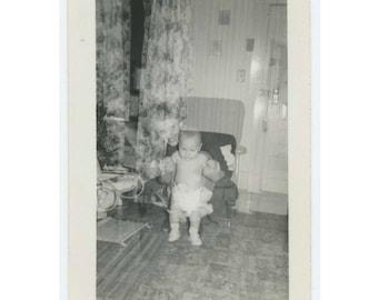 Double Exposure Vintage Photo Snapshot: Mother & Baby (610511)