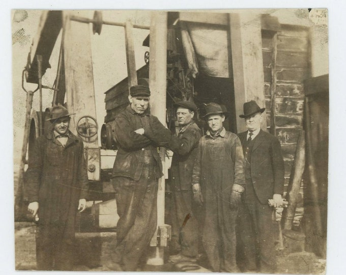 Workers, Foreman, c1920s-30s: Vintage Snapshot Photo (71539)
