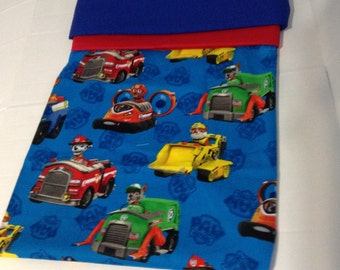 Paw Patrol pillowcases , Great for Birthdays,For Daycare naps,Personalized items,Monogrammed Pillowcases.