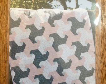 TRAIL MIX Quilt Pattern by Jaybird Quilts - NEW -5 sizes - baby, lap or throw, twin, full and queen - No Y Seams!