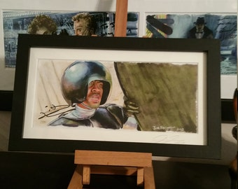 Tim Russ Autographed Spaceballs - We Ain't Found Shit Framed Print
