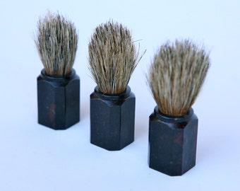 Italian bakelite shaving brushes