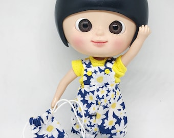 Daisy Romper and Sack set for Lati Yellow & Pukifee