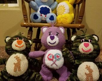 Crochet carebears