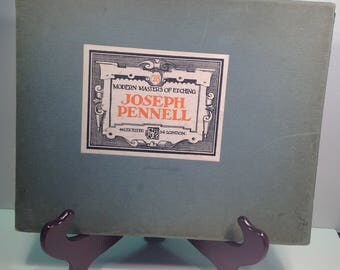 Antique Joseph Pennell #28 Modern Masters of Etching Cover