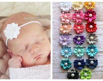 You Pick Colors, Baby Headband, Infant Headband, Newborn Headband, Headband, Small Headband, Petite Headband, Baby Headband, Infant Headband