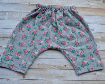 Handmade floral harem pants birth to size 5