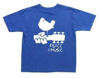 Woodstock shirt for kids boys woodstock tee youth size