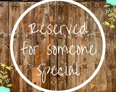 Reserved for Danielle - Custom Dog Collar (see description)