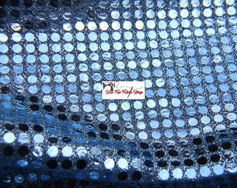 "Sequin Fabric on Sparkle Knit, 60"" wide...great for costumes, dance, theater, formal wear, pageant."