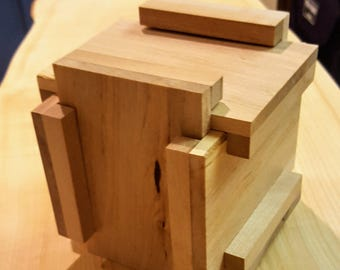 Wood Puzzle Box