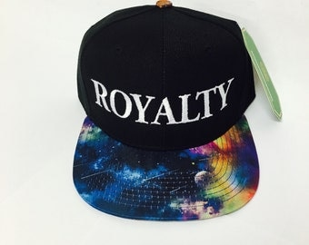 Custom Galaxy Royalty Snapback Cosmic Stars Colors Multicolor Snap Back