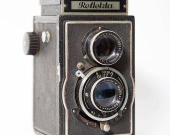 Reflekta TLR Camera 1940s Germany Kamera-Werk Tharandt 120 Film