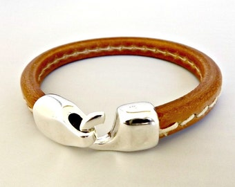Leather bracelet, mens leather bracelet, mens bracelet, leather jewelry, bracelet homme, leather bracelet men, leather men bracelet