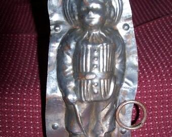 Victorian Boy Antique Candy Mold