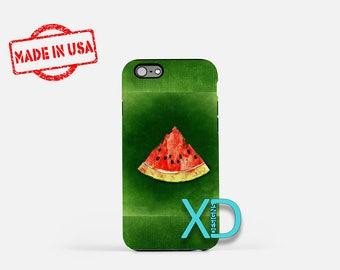 Watermelon iPhone Case, Fruit iPhone Case, Watermelon iPhone 8 Case, iPhone 6s Case, iPhone 7 Case, Phone Case, iPhone X Case, SE Case