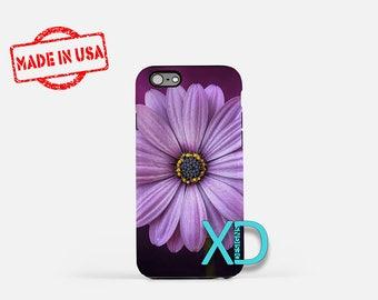 Purple Flower iPhone Case, Flower iPhone Case, Flower iPhone 8 Case, iPhone 6s Case, iPhone 7 Case, Phone Case, iPhone X Case, SE Case