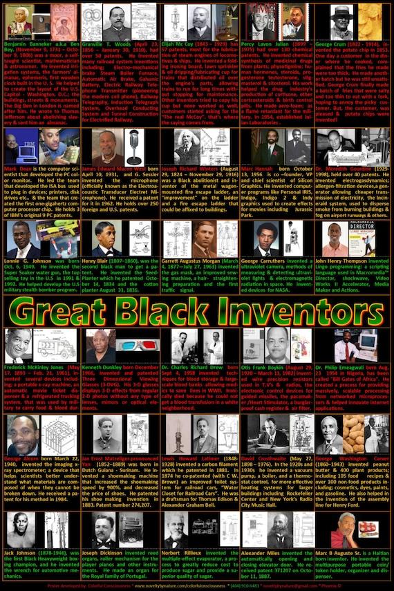 black history poster black inventors poster ben bey madame